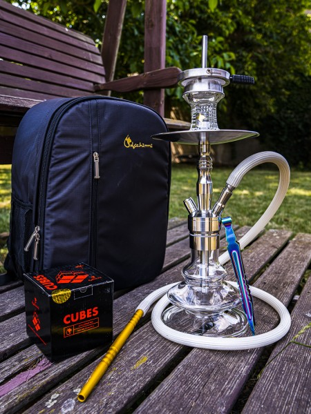 Dschinni Junior Shisha OUTDOOR Set GOLD